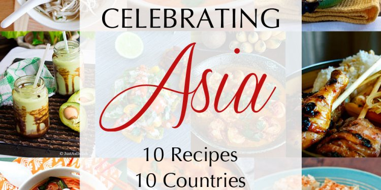 10 Recipes from 10 Asian