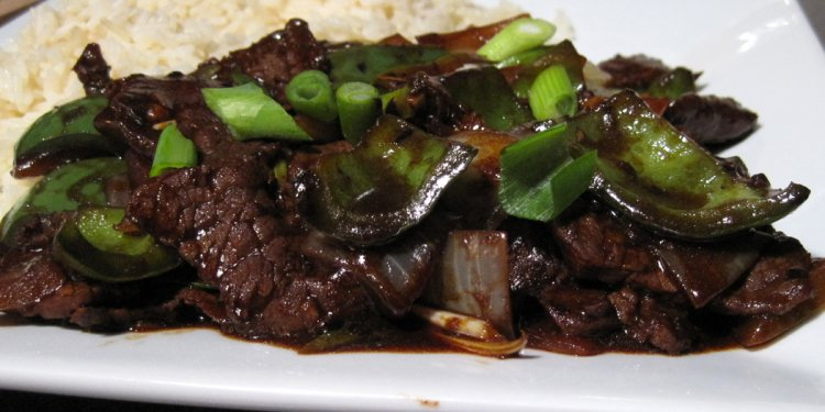 Glug of Oil: Beef and Green