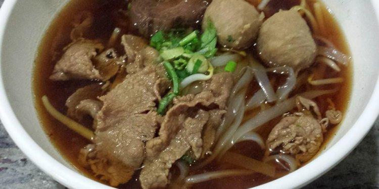 Beef Noodles @ Thai Noodle