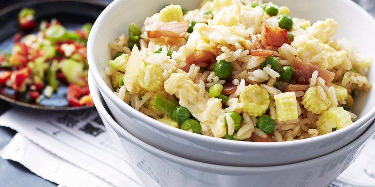 Recipe for Vegetable Fried