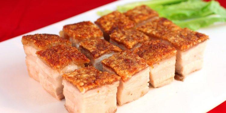 Chinese roast pork recipe oven