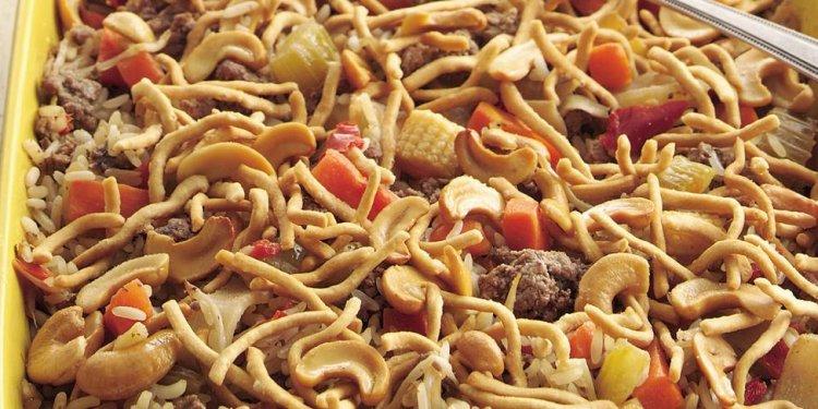 Easy Chow Mein Casserole