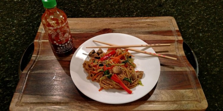 Fake Lo Mein | Quick