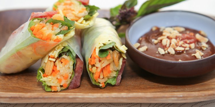 Fresh Spring Rolls with