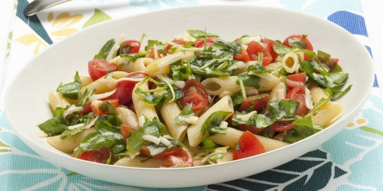 Simple Penne Pasta Salad with