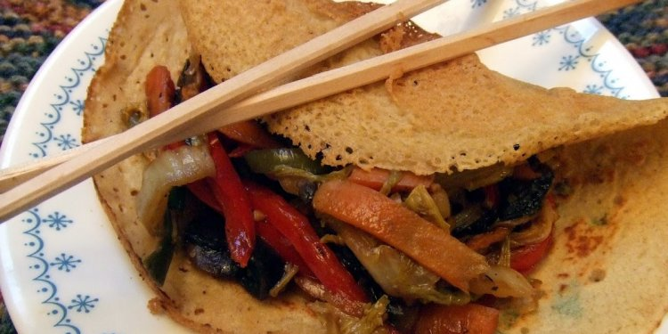 Mary: Moo Shu Pancakes Recipe