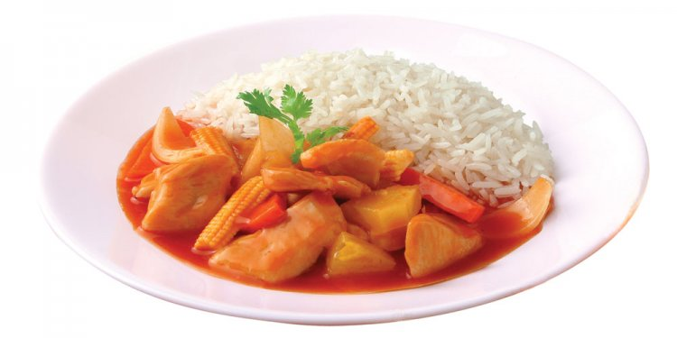 Sweet & Sour Chicken with