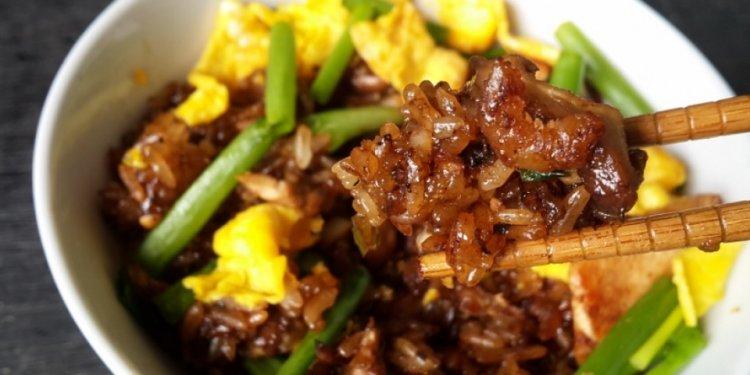 Recipe: Fried glutinous rice