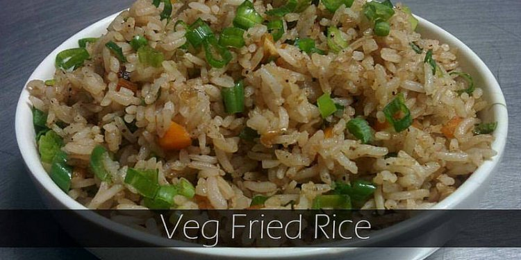 Recipe of the Week - Veg Fried Rice Veg Fried Rice is one of the most common and most loved Indo-Chinese...