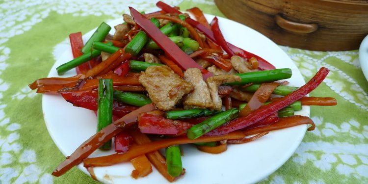 Simple Chinese stir-fry with