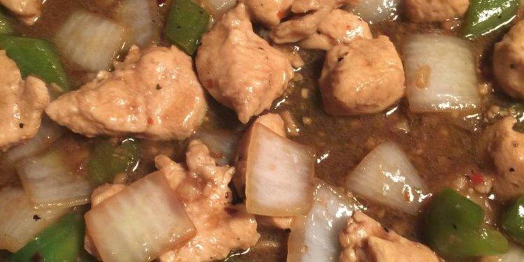 Slutty Chicken Stir-Fry