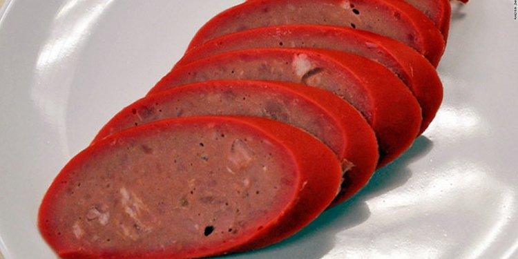 Smoked Harbin red sausage