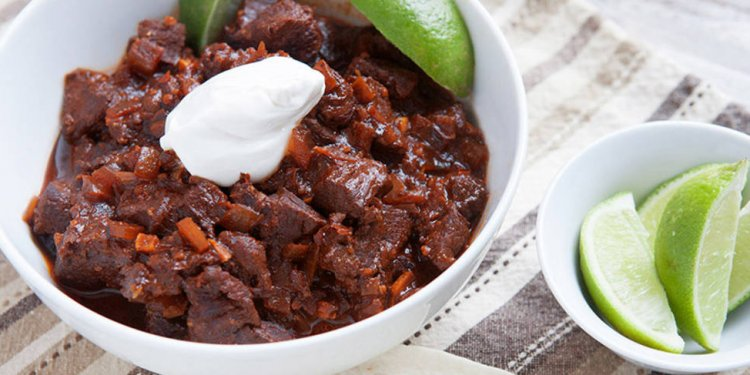Texas-Style Beef Brisket Chili