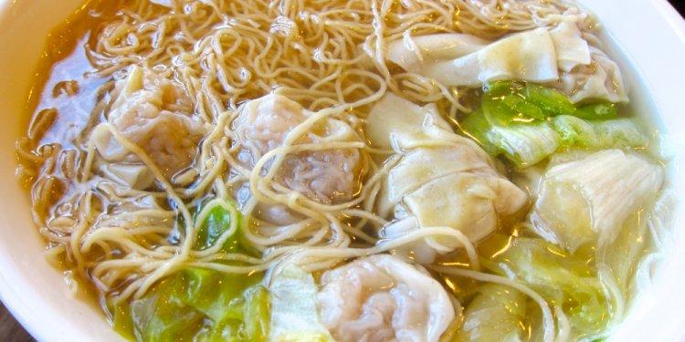 Recipe: wonton noodle soup