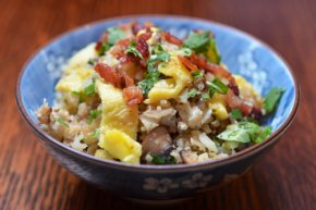 Asian Cauliflower Fried Rice by Michelle Tam