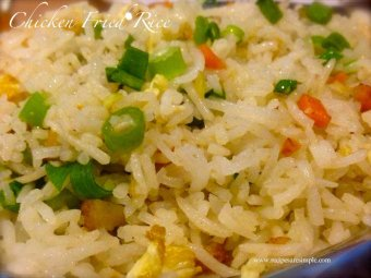 Chicken Fried Rice Recipe: Indian Chinese