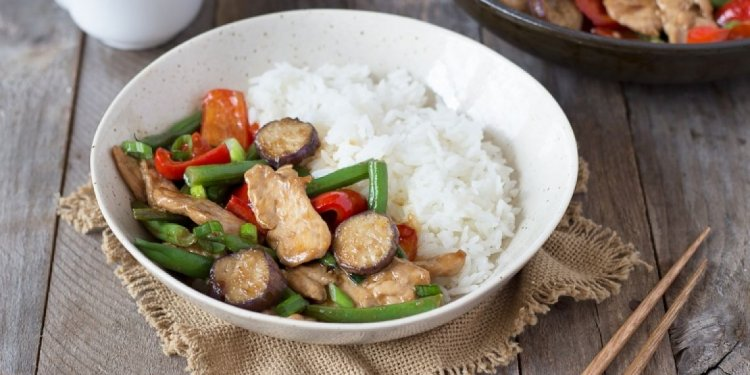 Chinese chicken Vegetable Stir Fry recipe