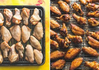 Chinese Lemon Chicken Wings Cooking Process
