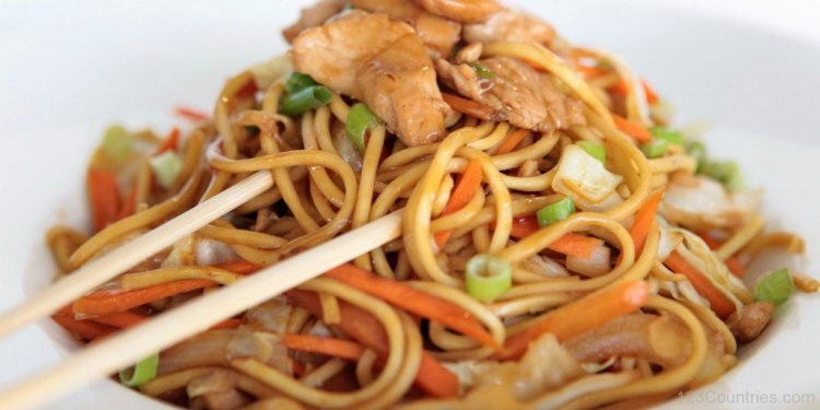 Chinese noodles images
