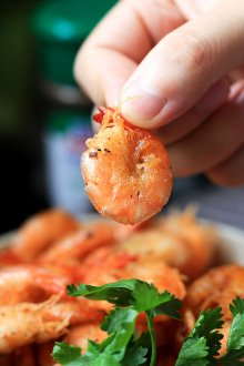 Chinese salt and pepper shrimp