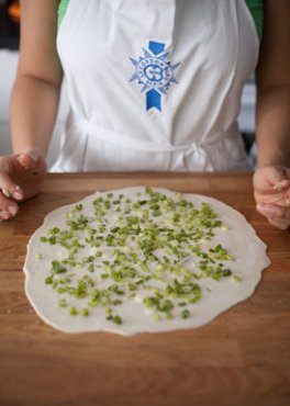 Chinese Scallion Pancake
