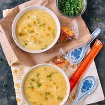 Egg Drop Soup,  by thewoksoflife.com