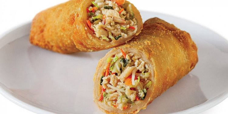 Chinese vegetables egg Rolls recipe