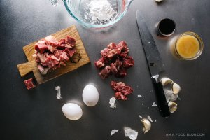 Honey Garlic Beef Recipe - width=