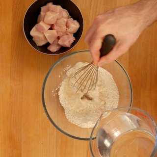 Make batter mix