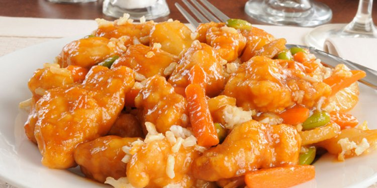Chinese Orange Chicken Crockpot Pot recipe