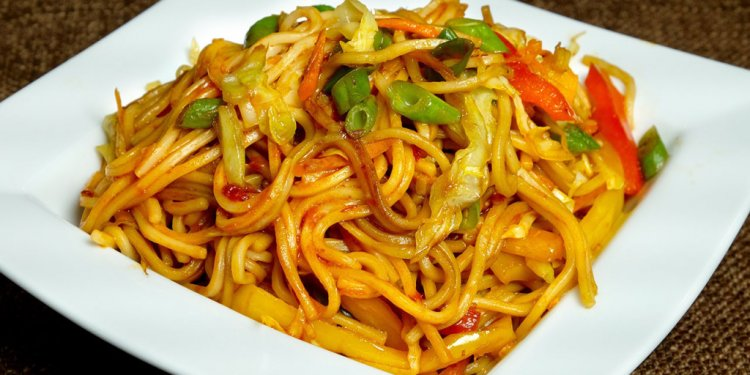 Chinese Chow Mein noodles recipe