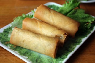 Pho Saigon's Vegetable Spring Rolls