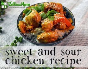 Real food sweet and sour chicken recipe