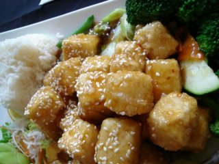 Sesame chicken is a popular menu item at Palm Springs Chinese restaurants