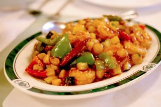 Spicy, tangy kung pao shrimp at China Chili is a favorite.