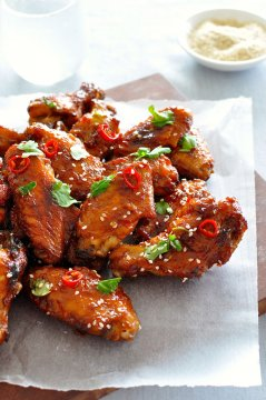 The ultimate Chinese Sticky Wings, my family recipe tweaked and perfected over years with many heated debates!