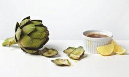Thomasina Miers' globe artichokes with burnt butter