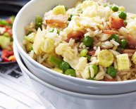 BBQ pork Fried rice recipe Chinese