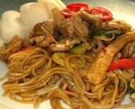 Chinese Beef Chow Mein recipe