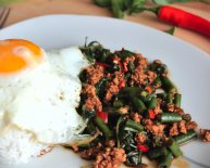 Chinese Beef Minced recipe