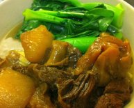 Chinese Beef Stew with tendon recipe