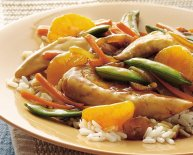 Chinese cooking vegetables