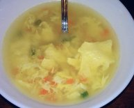 Chinese Egg Flower Soup recipe
