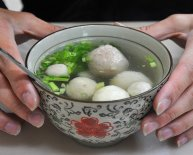 Chinese fish balls Soup recipe