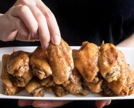 Chinese garlic Chicken Wings recipe