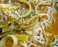 Chinese Noodle soup recipe Vegetarian