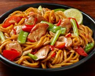 Chinese vegetables Stir Fry noodles recipe