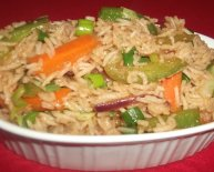 Chinese Vegetarian Fried rice Recipes