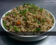 Recipe for Chinese Veggie Fried rice