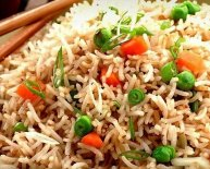Recipe for vegetables Fried rice Chinese style